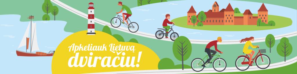 Apkeliauk Lietuvą dviračiu