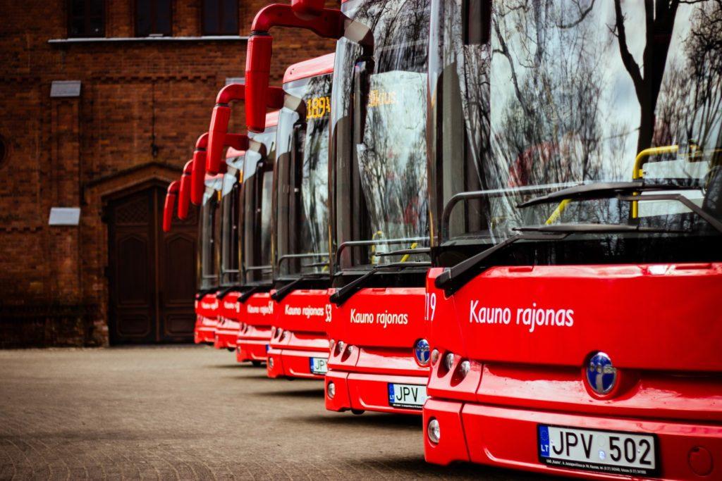 Kaunas Birštonas autobusu
