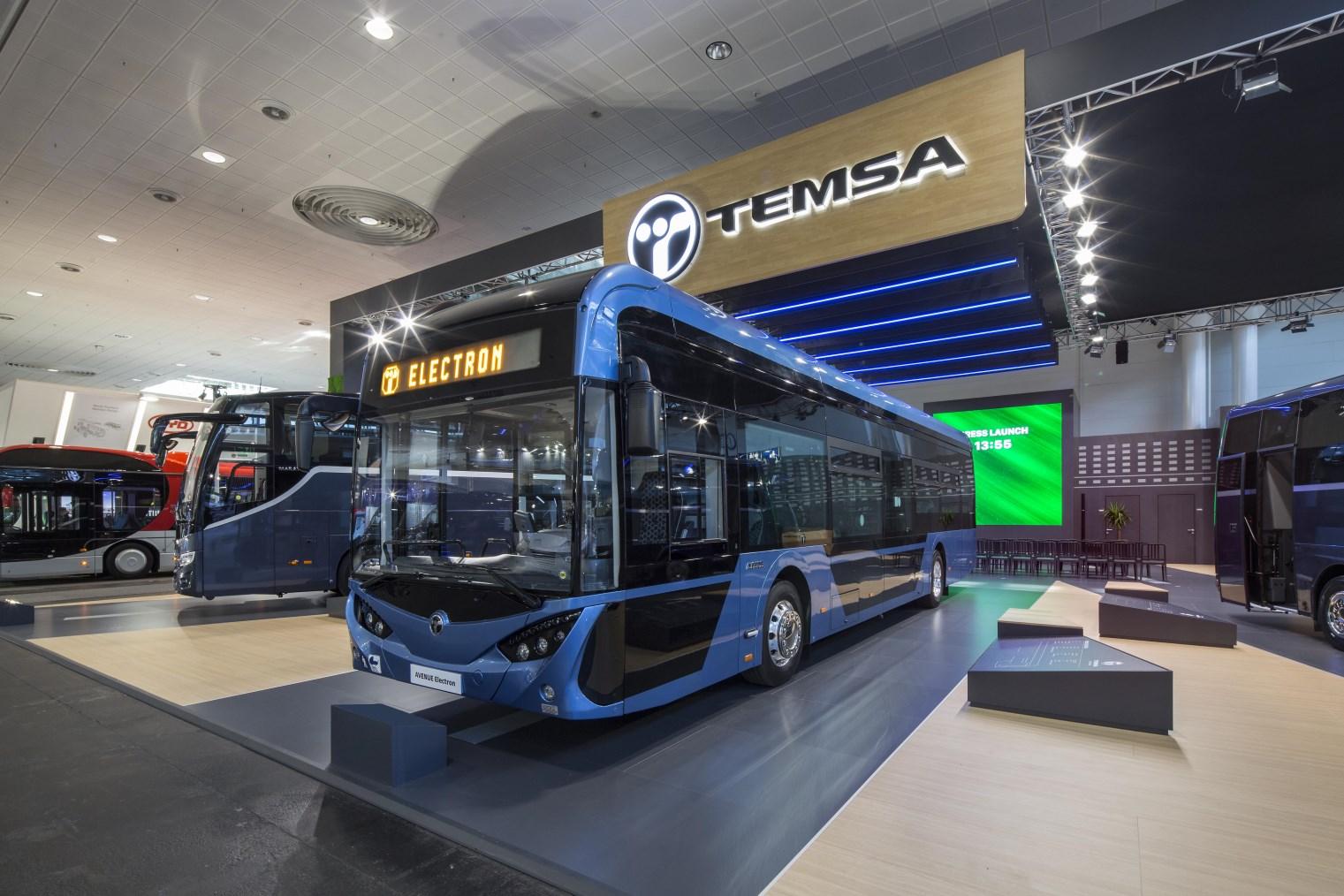 Avenue Electron Temsa autobusas Kautra