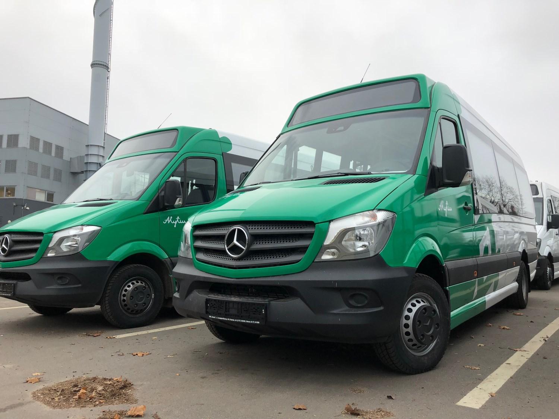 Nauji autobusai Kautra Alytus