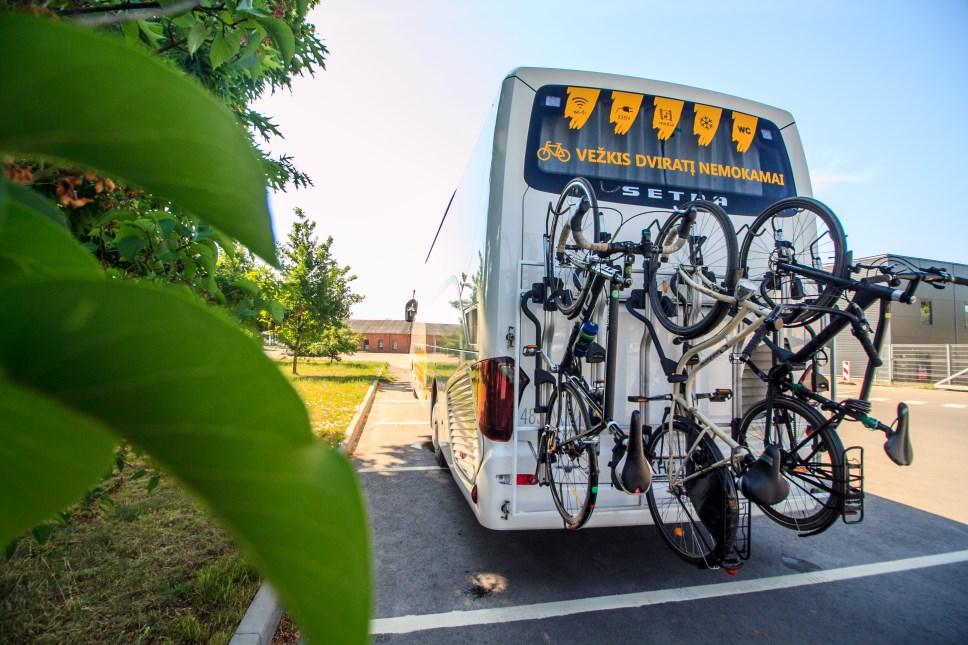 Vežkis dviratį autobusu nemokamai
