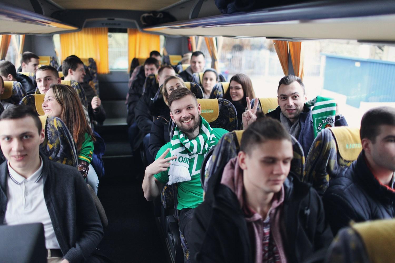 Žalgirio ekspresas kelionė autobusu į Eurolygos rungtynes