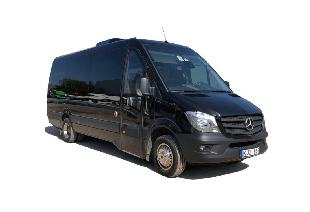 VIP mikroautobuso nuoma Lietuvoje