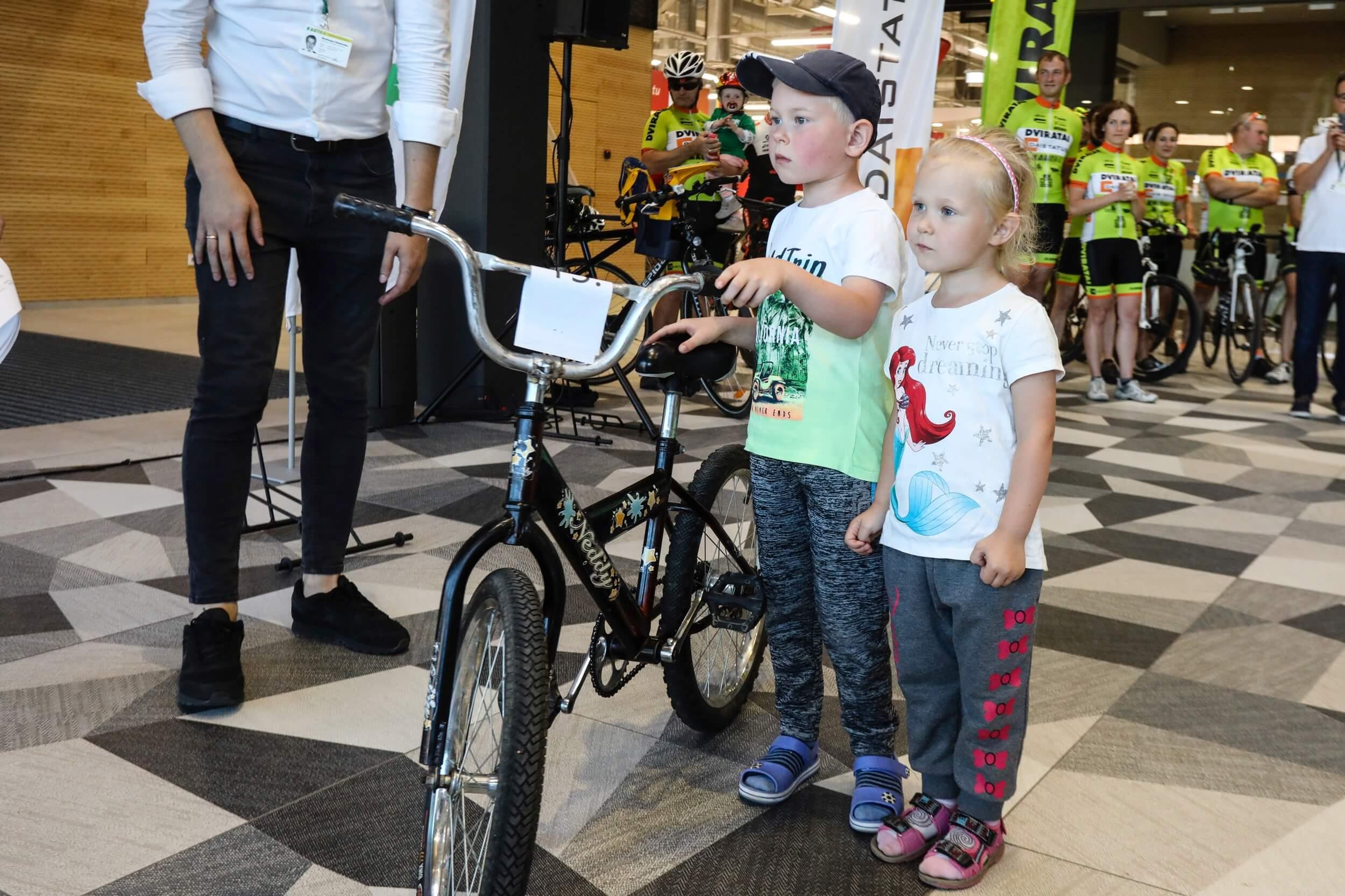 Nauja dviračio šeima